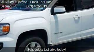 2017 GMC Canyon 4WD CREW CAB 128.3 for sale in Sebring, FL 3