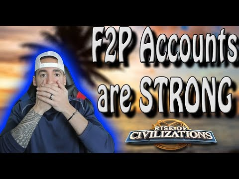 F2P Players Showcase there Accounts | Rise of Civilizations