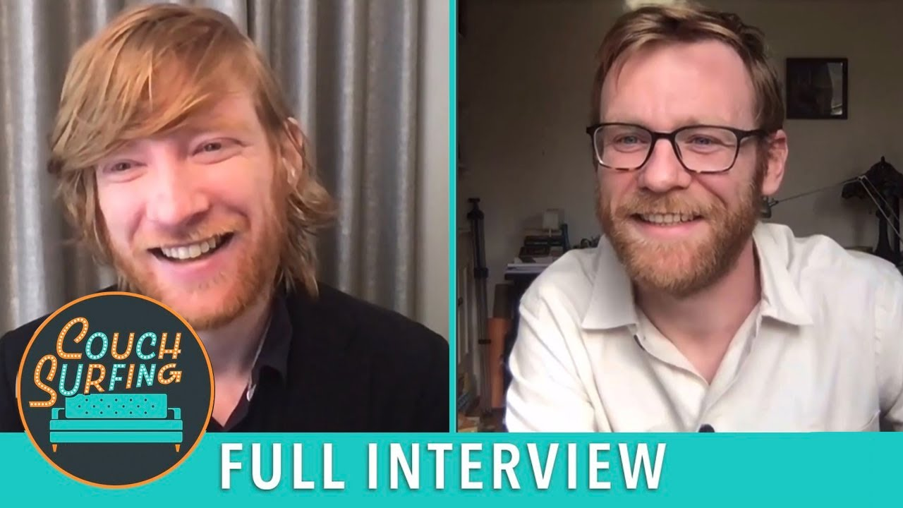 Brian & Domhnall Gleeson Talk 'Frank of Ireland' and More!   Couch Surfing
