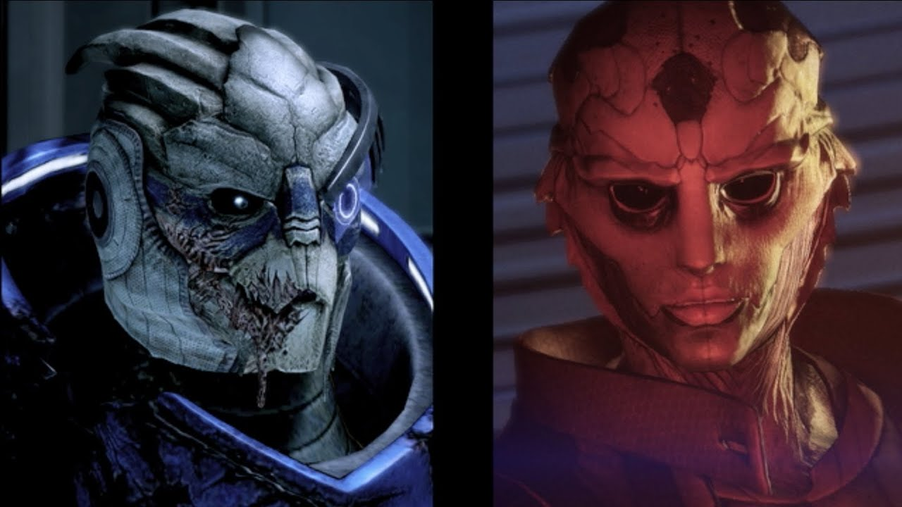 Image result for garrus and thane