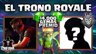 """NO CESA LA MALDICION del  """"TRONO ROYALE"""" SIEMPRE SE GANA de 2!!  - CLASH ROYALE"""