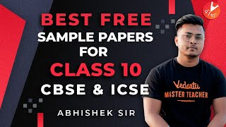 Best Free Sample Papers for Class 10 2021 CBSE amp ICSE Board Exam 2021 Vedantu Class 9 and 10