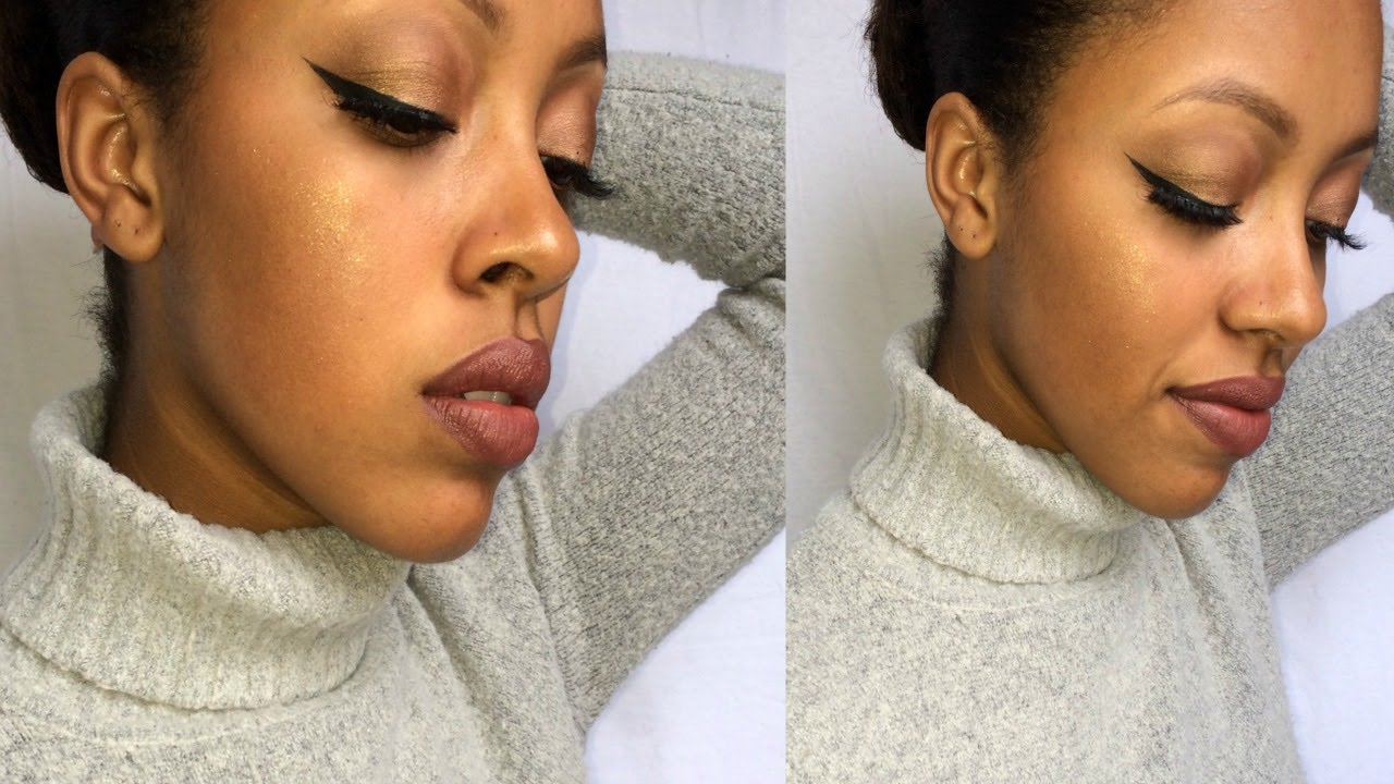 How to Contour & Highlight WITHOUT Wearing Foundation - YouTube