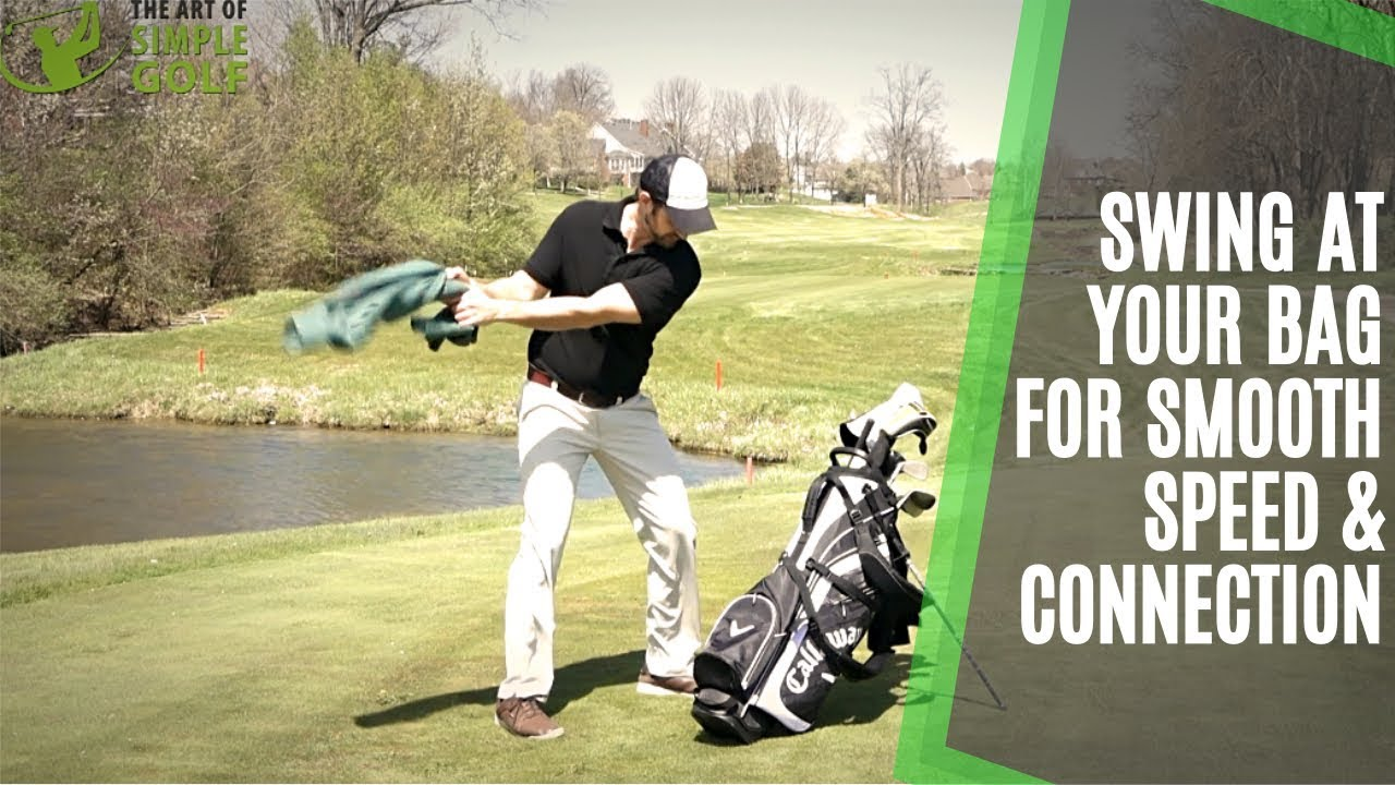 Simple Golf Swing Drill For Smooth Speed And Sequence Hit Your Bag