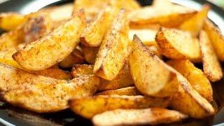 Картошка по-деревенски.Картошка с хрустящей корочкой. Супер рецепт.