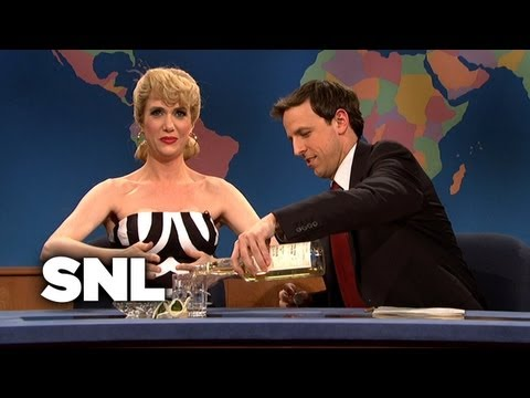 Weekend Update: Barbie on  Her 50th Birthday - SNL