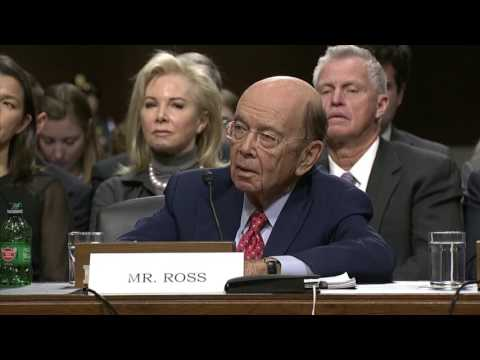 Secretary of Commerce confirmation hearing