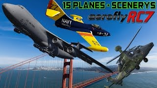 Aerofly RC 7 Ultimate Edition - 15 Planes & Scenerys PC HD