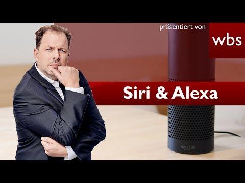 Darf ich Alexa oder Siri benutzen, wenn ich Gäste habe? | Rechtsanwalt Christian Solmecke