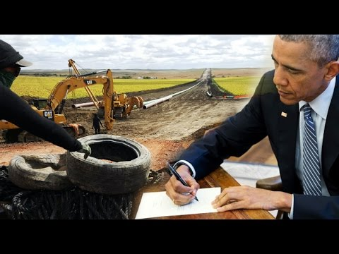 Obama and the DAPL - No Trump Needed