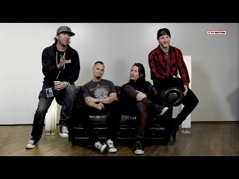 Alter Bridge im Interview | Live Nation GSA