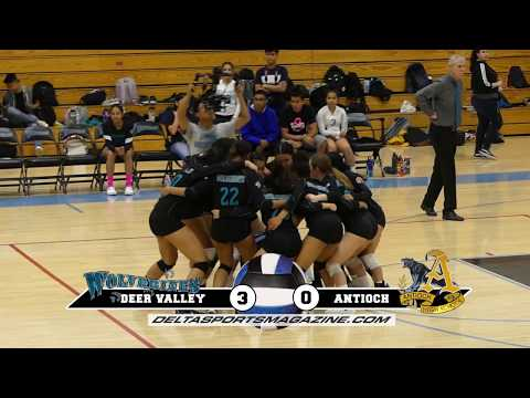 Match Highlights. Antioch @ Deer Valley 10 22 19