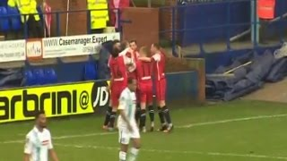 GOAL: Tranmere 0-1 Macclesfield