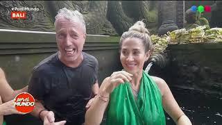 Marley y Jimena se purificaron en un templo histórico - Por El Mundo 2019