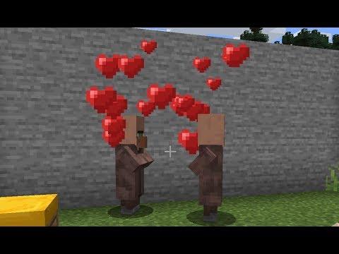 Minecraft: How To Breed Villagers - (Minecraft Breeding Villagers)