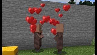 Minecraft: How to Bręed Villagers - (Minecraft Breeding Villagers)