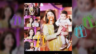 Fahad Mustafa Son Birthday Party With Fabiha Sherazi Thumbs Up 👍