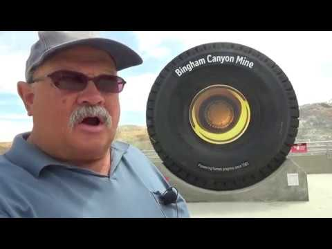 Bingham Canyon Copper Mine Near Salt Lake City, Utah
