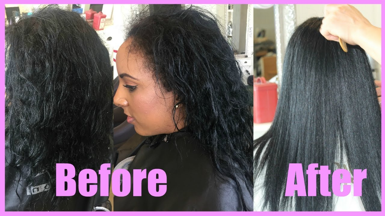 Straight perm didnt work - Korean Magic Straight Perm Japanese Perm Hair Transformation Youtube