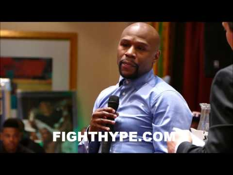 MAYWEATHER REVEALS DIFFERENCE BETWEEN HIMSELF & OTHER FIGHTERS; EXPLAINS WHY HE SLEEPS UNTIL 2:30PM