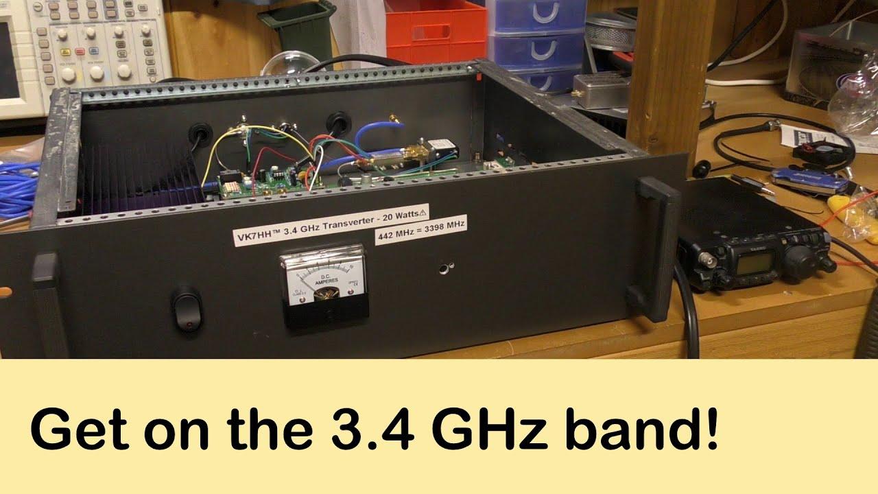 A cheap 3 4 GHz (9cm) transverter