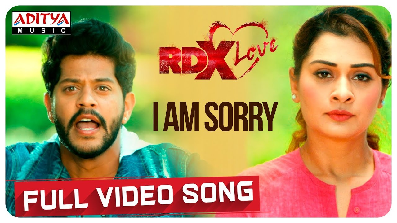 I Am Sorry Full Video Song || RDXLove Songs || Payal Rajput, Tejus Kancherla || Radhan