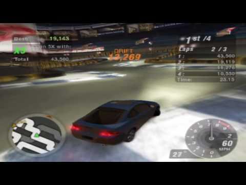 Need for Speed: Underground 2 Gameplay Walkthrough - Acura RSX Drift Test Drive