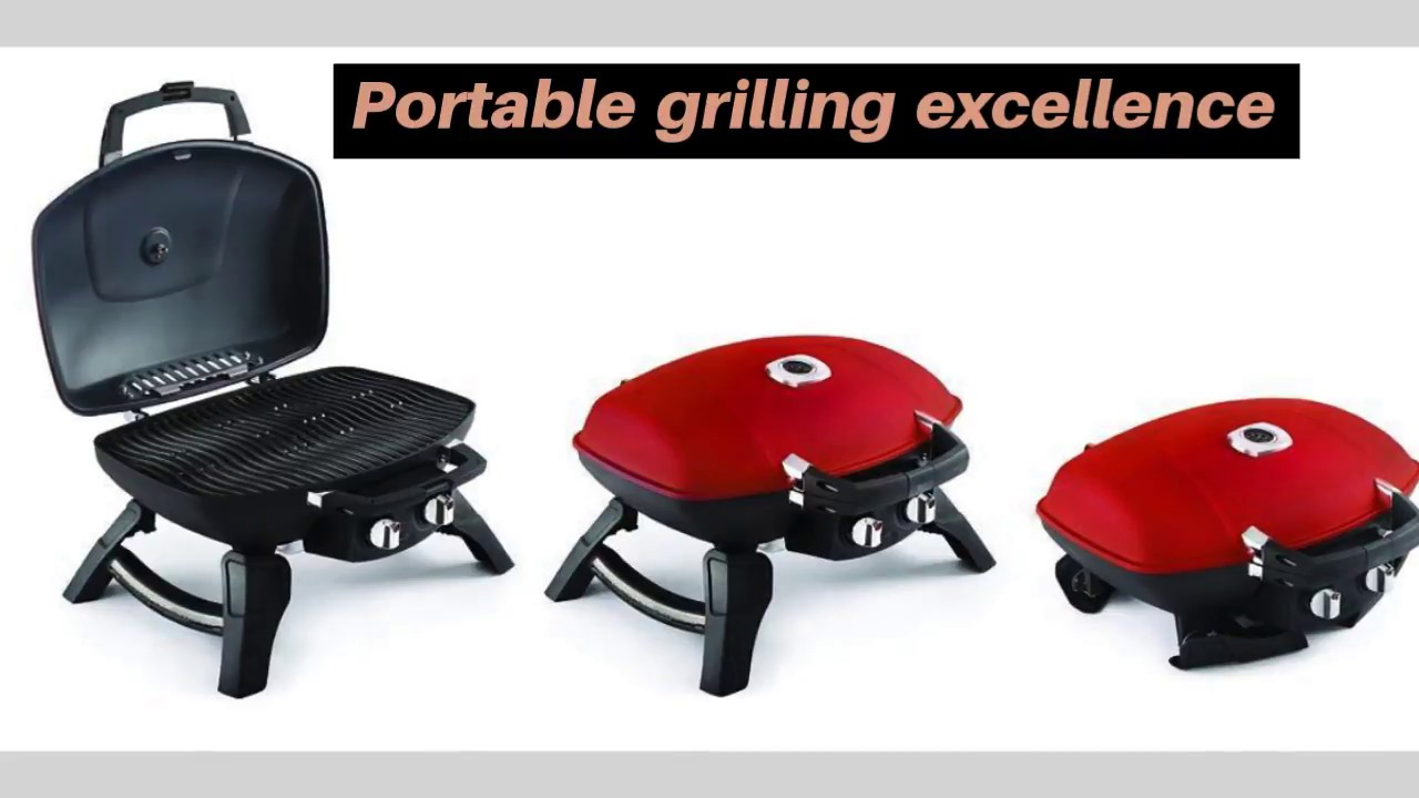 Napoleon Grills TQ285 RD A Travelq 285 Portable Gas Grill, Red
