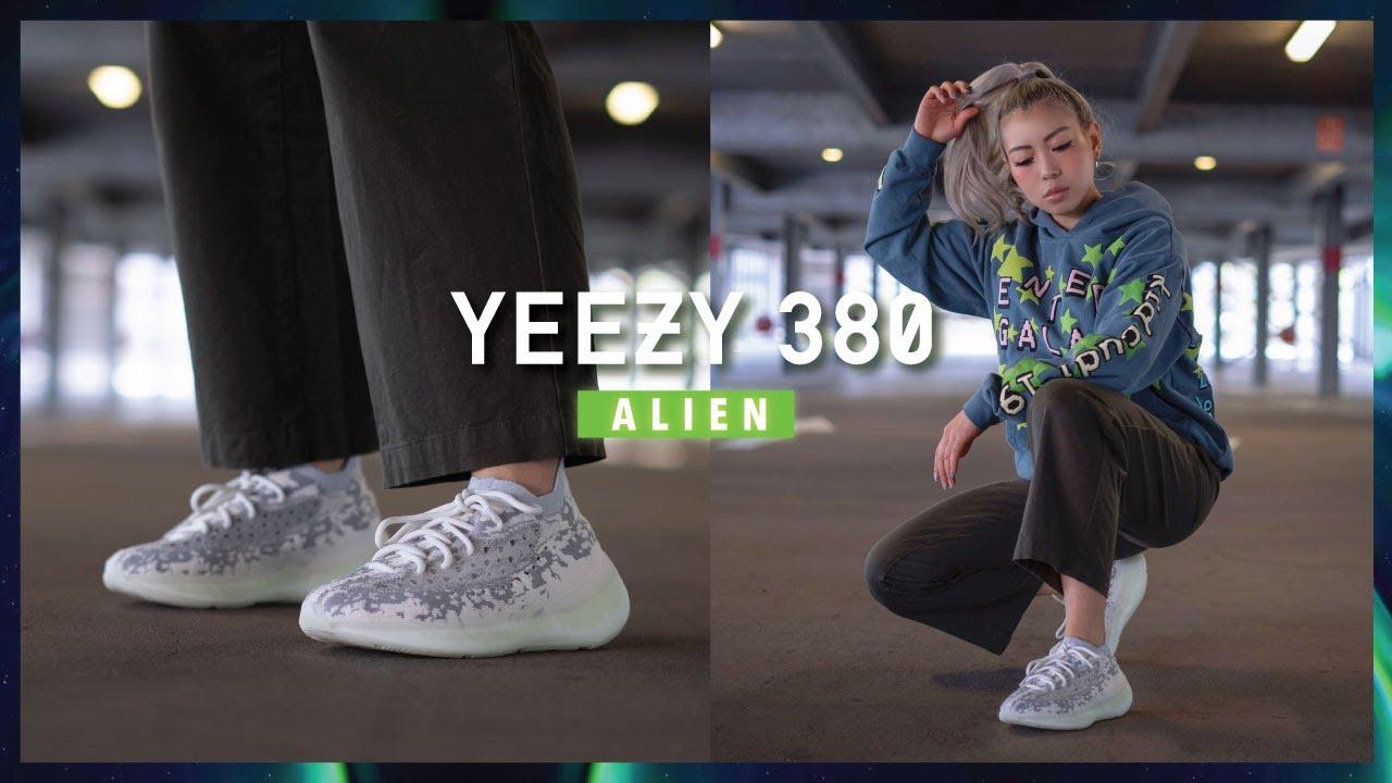 YEEZY 380 ALIEN Review \u0026 Comparison