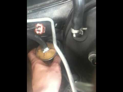 fuel filter - YouTube