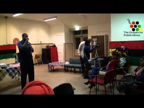 Reasoning with Dr. Umar Johnson in Rotterdam