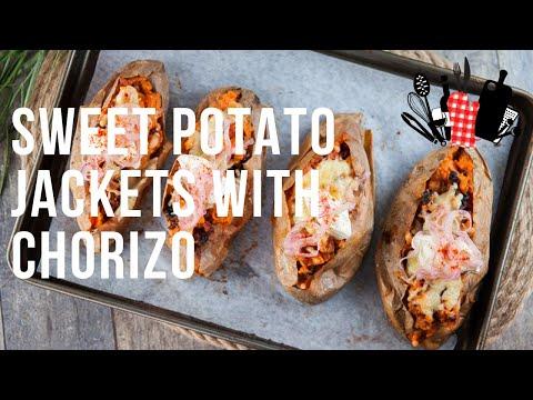 Sweet Potato Jackets With Chorizo | Everyday Gourmet S9 EP06