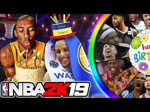 NBA 2K19 Wheel of Birthdays
