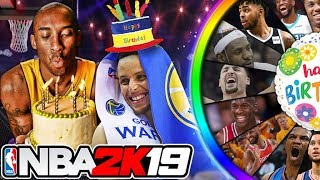NBA 2K19 Wheel of Birthdays