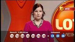 Lottoarvonta 26.2.2011 - Sekoilua pallojen kanssa (21=12)