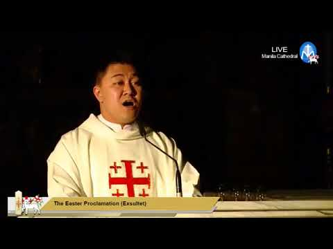 Easter Vigil from the Manila Cathedral | 31 March 2018