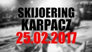 Skijoering 25.02.2017  JANKES & Stanisław Karpiel-Bułecka