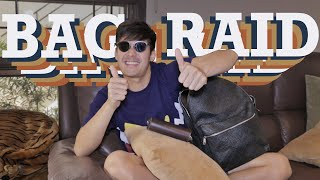 BAG RAID! Why I have 3 different bags | Robi Domingo