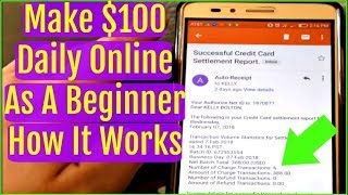 How To Make Money Online Fast 2018 - Email Processing Review 2018  $100 - $300 A Day Online Beginner