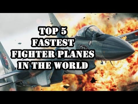 Three Russian Jets In Top-5 Fastest Fighter Planes In The World.