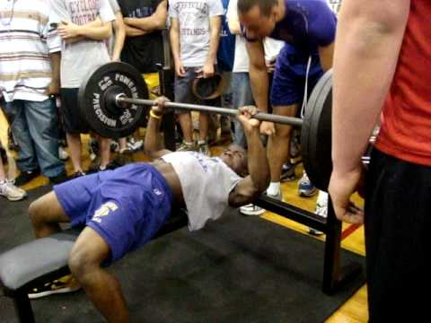 Arkansas High School Record Bench Press 132 lb Division
