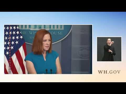 "Biden Press Secretary Psaki Refuses To Condemn Maxine Waters' ""Confrontational"" Comments"
