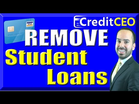 how-to-remove-student-loans-from-credit-report