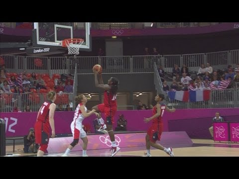 Basketball Women's Prel.Round Group A  USA v CZE Full Replay  London 2012 Olympic Games