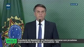 Pronunciamento Oficial do Presidente Bolsonaro sobre Brumadinho - 25/01/2019