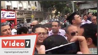 منع منى مينا وزياد العليمى وفريد زهران من الانضمام إلى اعتصام الصحفيين