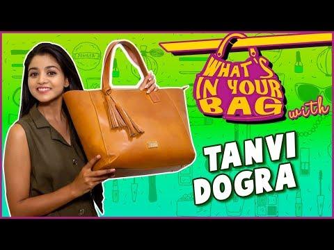 Tanvi Dogra aka Falguni's Handbag Secret Revealed | What's In Your Bag | Jiji Maa  | TellyMasala