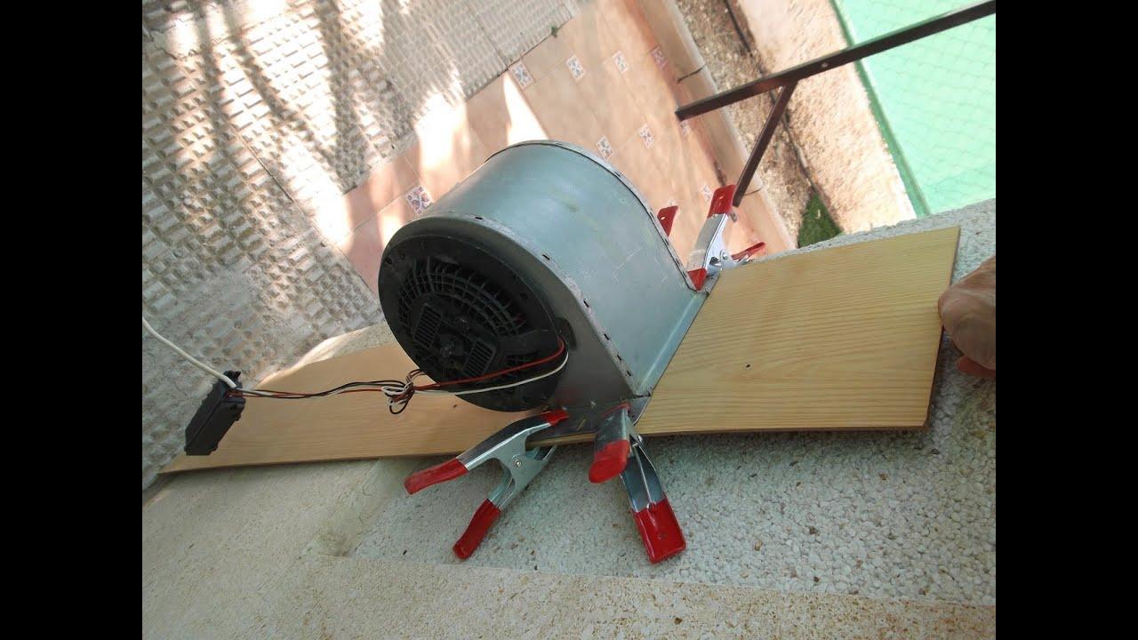 Reciclando extractor cocina para sacar aire caliente - Extractor aire cocina ...