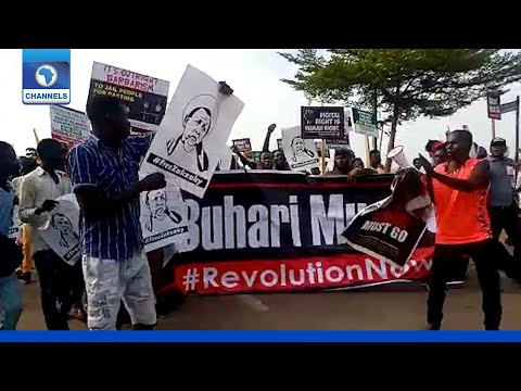 Download Democracy Day: Abuja Protesters Call For Buhari's Resignation