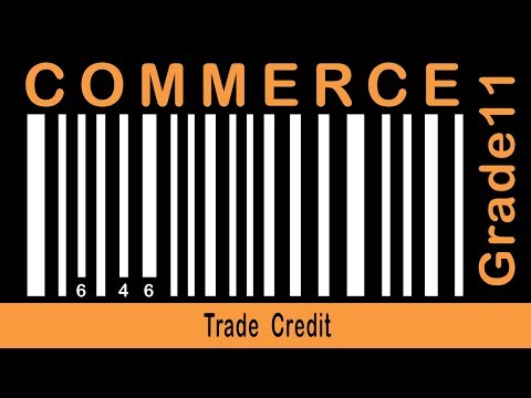 Commerce Grade 11 | Business Finance (Borrowed Funds) | Trade Credit | Part 45